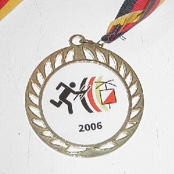 Goldmedaille DM 2006 - DO8FOX